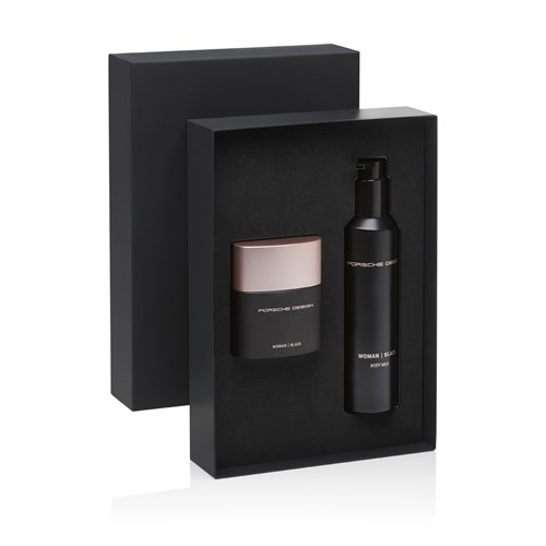 Porsche Design Woman Black EDP & Body Milk Gift Set